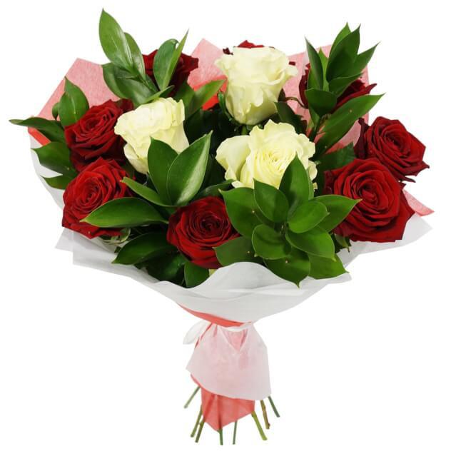Марта любимой, красивое объявление по оформление букета из роз